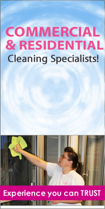 cleaning residential & commercial